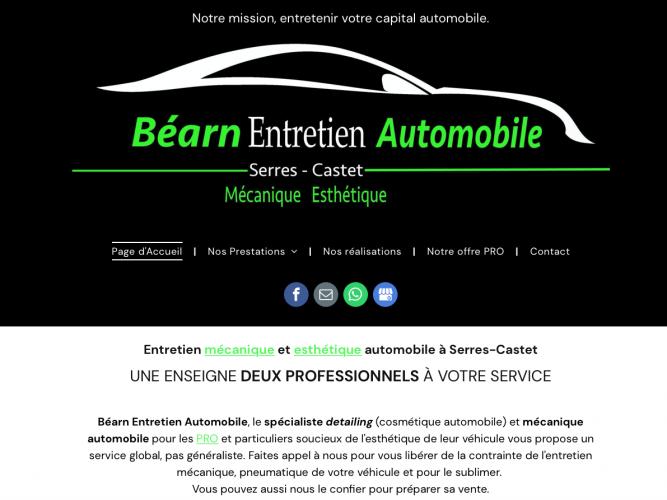 Béarn entretien automobile